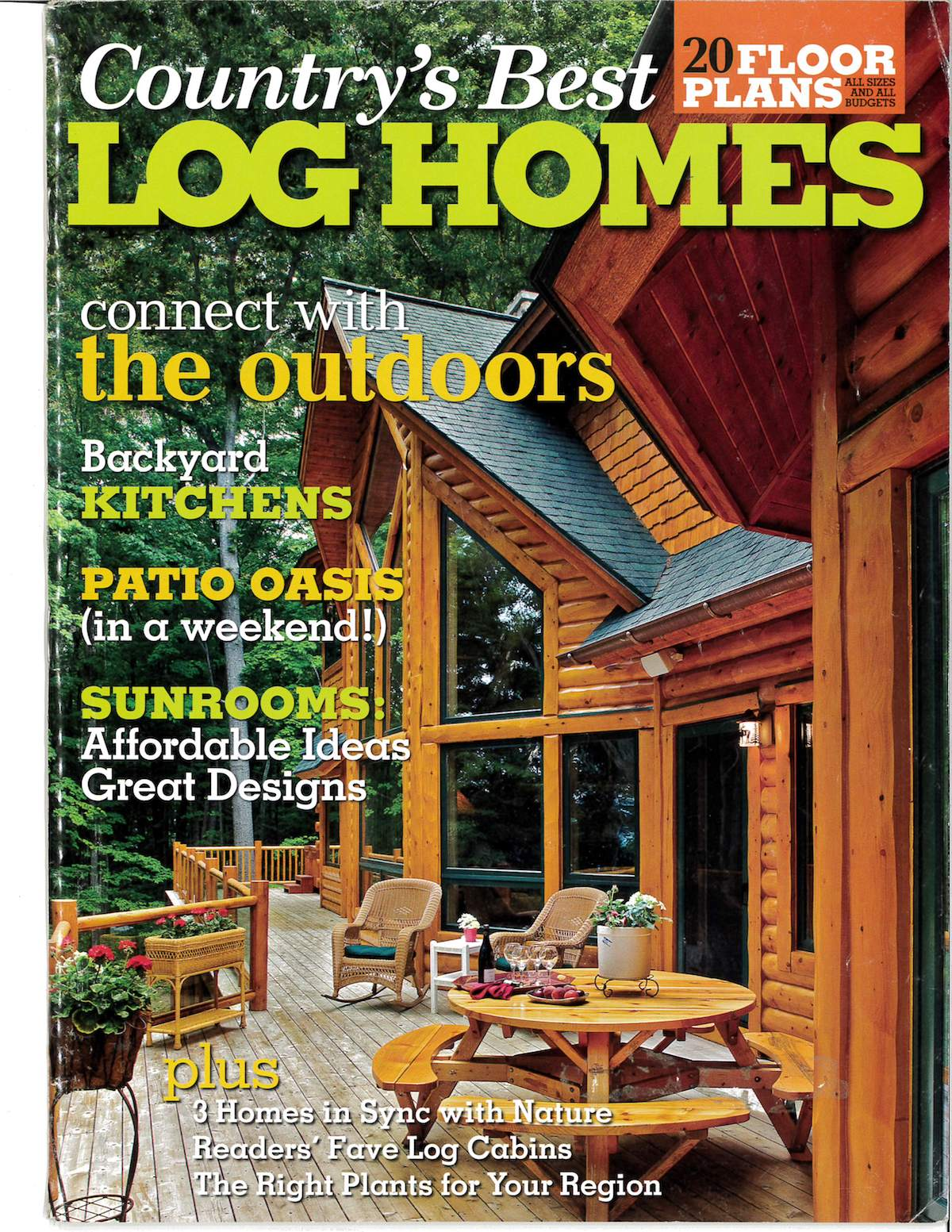 Log home publications old style log works kalispell for Old style log homes