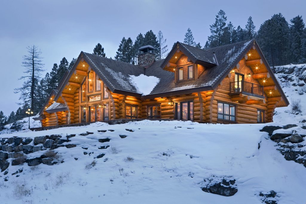 Handcrafted Log Homes Timber Structures Old Style Log Works Kalispell Mt